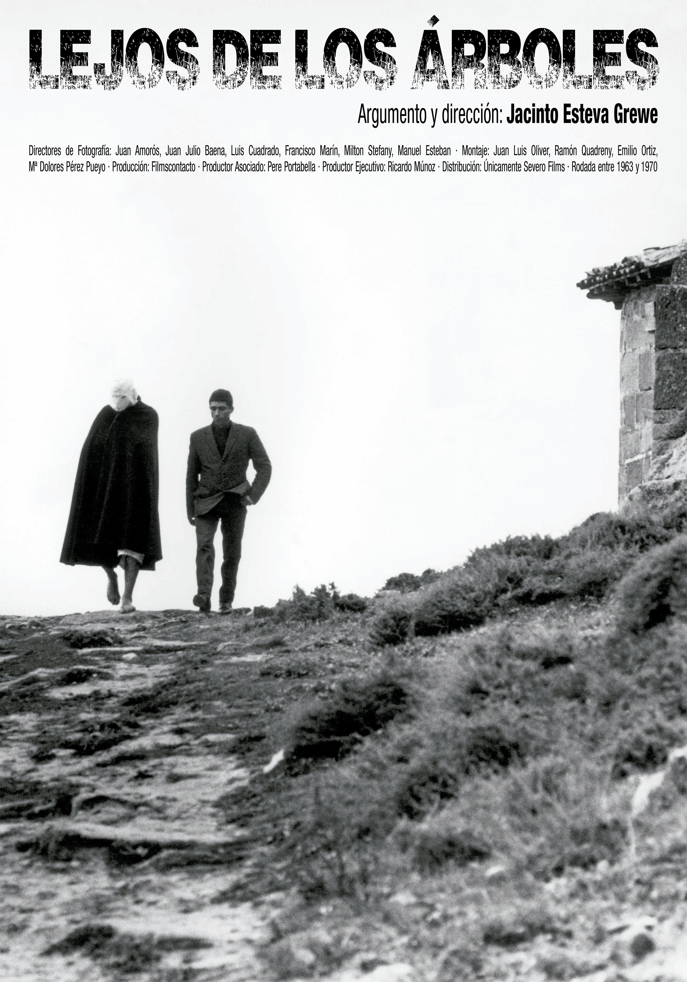 Imagen del rodaje de 'Lejos de los árboles (1972)'. Los Picaos.San Vicente de la Sonsierra(La Rioja)