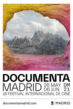 Cartel de Documenta Madrid 2021