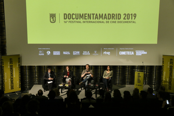 Presentación del Festival DocumentaMadrid 2019 en Cineteca Madrid.