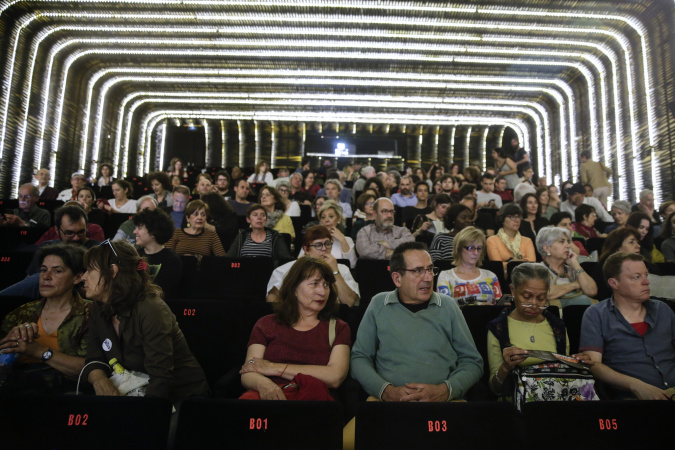 Sala Azcona de Cineteca Madrid en Documenta2019