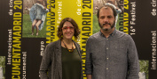 Directores de DocumentaMadrid, Andrea Guzmán y David Varela