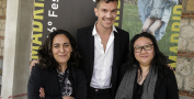 Hind Benchekroun Xalco, Stephane Riethauser Madame, Su Kim Midnight Traveler © DocumentaMadrid - Andrea Comas